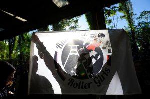 1. Bundesliga: Bear City Roller Derby [B] vs. RuhrPott Rollergirls [A] @ Sporthalle der Grundschule Ludwig-Renn