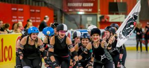 RuhrPott Roller Girls [B] vs. Blockforest Roller Derby Freiburg @ Wohnbau Hockey Arena