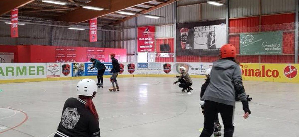 Lernt skaten mit Übungen...